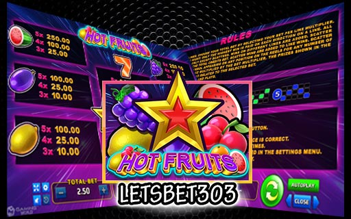 Review Slot Hot Fruits Joker123 Dari Provider Gaming World